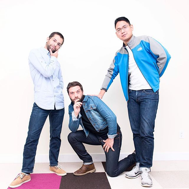 Introducing to you... the A-Team boy band! 😂 #AequilibriumLife #bctech #yvrjobs #mountpleasant